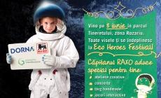 Capitanul Raxo te invita la Eco Heroes Festival