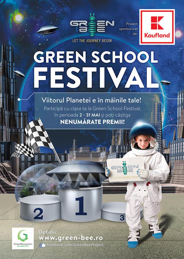 """Vizual competitie """"Green School Festival 2017"""""""