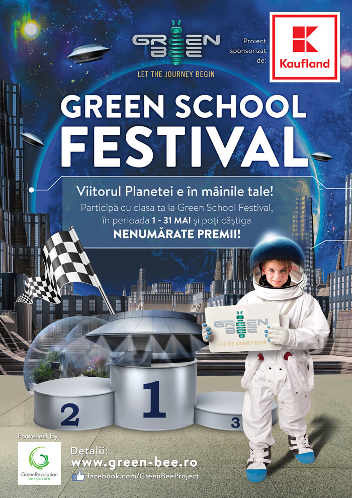 """Vizual competitie """"Green School Festival 2018"""""""